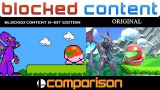 Frame by Frame COMPARISON: RIDLEY in Super Smash Bros. Ultimate 8-Bit Trailer vs Original!