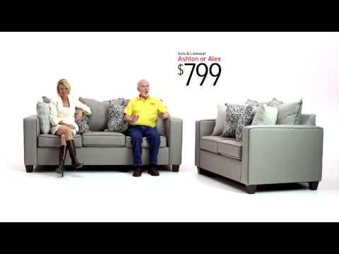 Ashton and Alex Sofa Sets | Bob's Discount Furniture