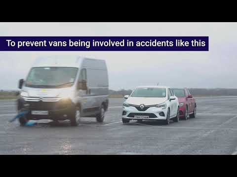 In captions: Thatcham Research and Euro NCAP launch world's first Commercial Van Ratings
