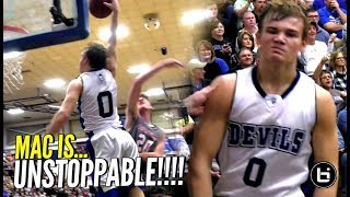 Mac McClung IS UNSTOPPABLE!!! Goes KOBE On Em w/ 41 Points To Win District Championship!
