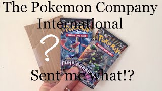 Pokemon Booster Packs Opening and More from The Pokemon Company International!