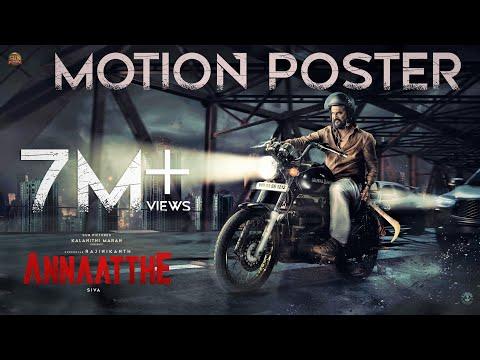 Annaatthe Motion Poster- Rajini Kanth