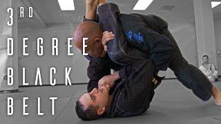 3rd Degree Black Belt Exam | Brazilian Jiu Jitsu | ROYDEAN.TV