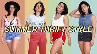 biggest thrift store in LA: SUMMER HAUL   MeganBatoon