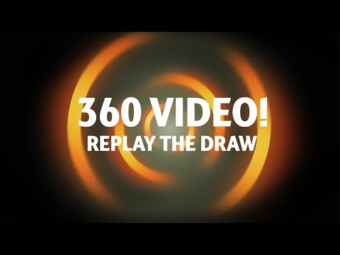 UEFA Europa League Draw Re-Run in 360!