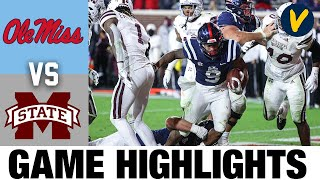 Mississippi State vs Ole Miss Highlights | Week 13 2020 College Football Highlights