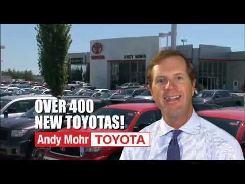 Andy Mohr Toyota Current Offers - September 2013