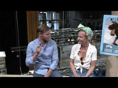 Sven Boräng och Mari Götesdotter minns föreställningen Borders