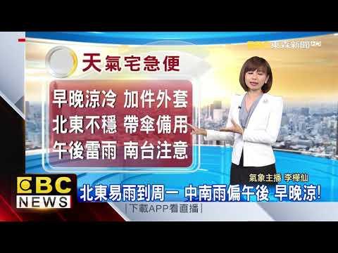 氣象時間 1090925 早安氣象@東森新聞 CH51