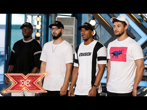 The Judges are feeling Rak-Su's first Audition   Auditions Week 1   The X Factor 2017