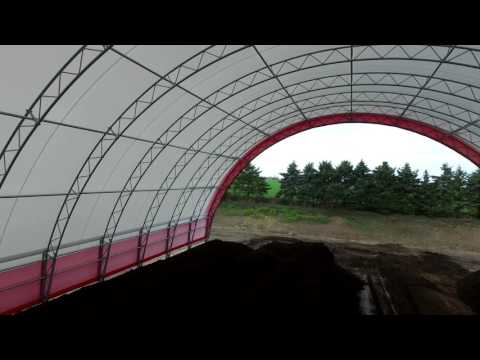 Harold Martin Two 80' x 200' Atlas Building Series for Composting