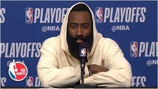 James Harden on Rockets' playoff exit: We have to find a way to get better | 2019 NBA Playoffs