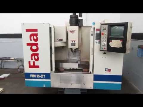 Fadal VMC 15XT CNC Vertical Machining Center w New Spindle Cartridge