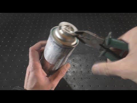Что можно сделать из пустого газового баллончика. photo
