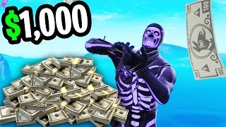 I offered Fortnite Pro's $1,000 if they could do this... (He ACTUALLY DID IT!)