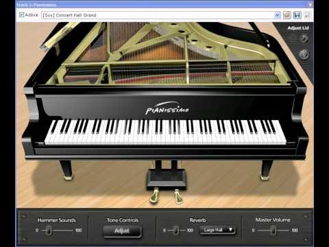 Pianissimo Virtual Grand Piano VSTi plug-in
