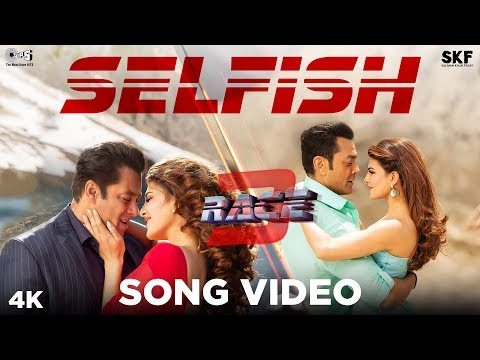Selfish Song Video - Race 3 - Salman Khan, Bobby, Jacqueline - Atif Aslam, Iulia Vantur - Vishal