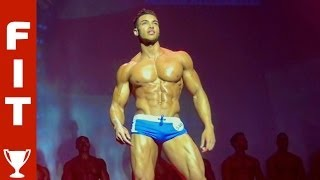22 YEAR OLD TAKES MUSCLE PRO TITLE - 'Future Fitness Star' Justin wins WBFF London