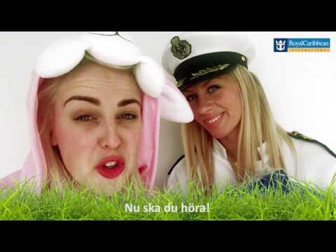 Royal Caribbean Sveriges påsk-quiz 2017