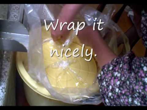Homemade organic miso making