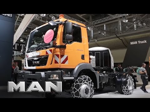 MAN municipal trucks - IFAT 2016