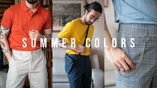 5 Bold Colors For Your Summer Wardrobe