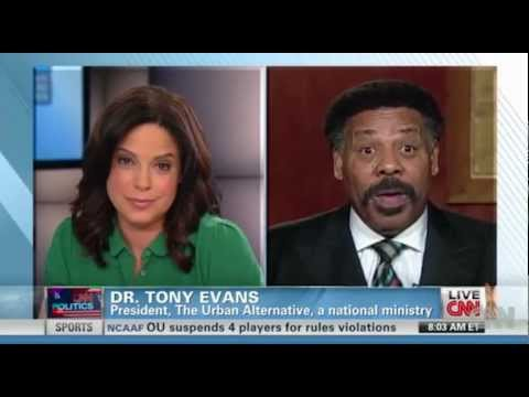 CNN: Pastor Tony Evans 'Disappointed' by Obama's Gay Marriage Support