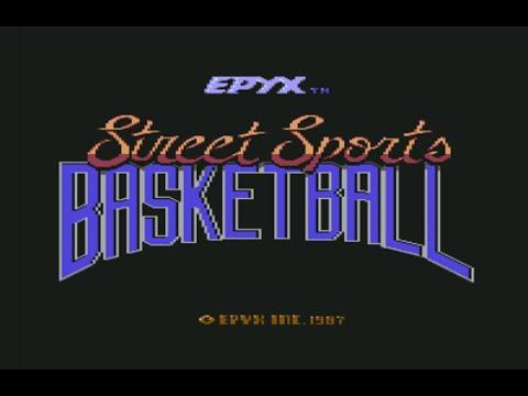 Street Sports Basketball (Commodore 64) - Review de RETROJuegos por Fabio Didone