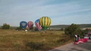 Atlantic Balloon Fiesta Time Lapse