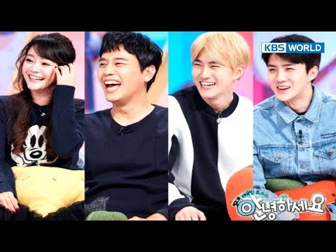 Guests - Suho and Sehun from EXO, Kim Sohyun & Junho [Hello Counselor / SUB : ENG,THA / 2017.11.13]
