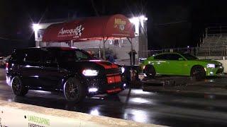 2020 SRT Durango vs Charger Daytona, Chevy Caprice, V6 Camaro, Camaro SS & Mustang 1/4 Mile