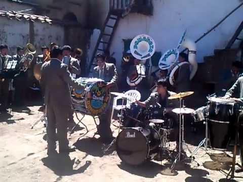 BANDA CENTRO MUSICAL POMAPATA, FIESTA DE HUASTA 2012