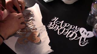 cricut - cake topper tutorial video