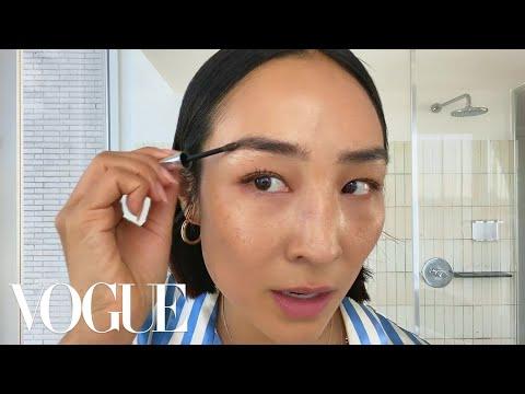 Greta Lee's Casual Glam Beauty Routine | Beauty Secrets | Vogue