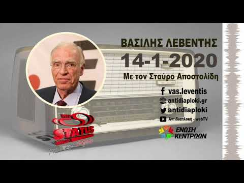 Η Δημοκρατία του Κολωνακίου (Β. Λεβέντης στον Status FM Αλεξανδρούπολης με το Σ. Αποστολίδη).