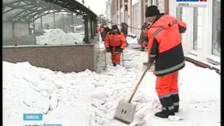 6 тысяч кубометров снега было убрано с городских пешеходных переходов