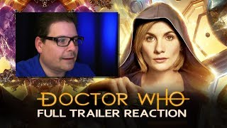 DOCTOR WHO Reaction - SERIES 11 - FULL TRAILER  #1 (San Diego COMIC CON 2018)