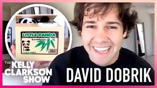 David Dobrik Shows Off His TikTok Buys 😎