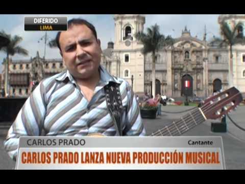 Carlos Prado lanza nueva producción musical