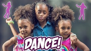 McCLURE TWINS DANCE WITH HEAVEN KING!