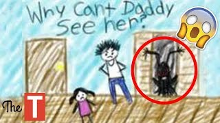 20 Creepy Kid Drawings That Will Make You Laugh