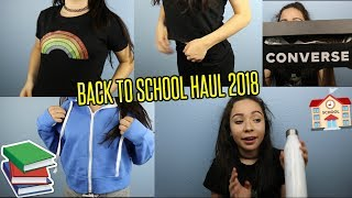 Back To School Haul 2018// clothing+try on