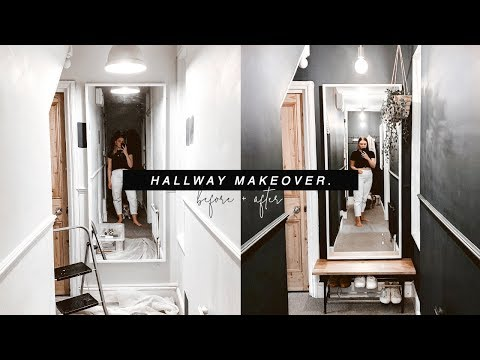 DIY HALLWAY MAKEOVER | MOVING VLOG 07. | I Covet Thee