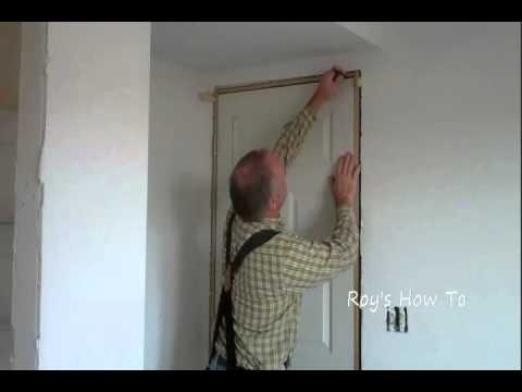 Installing a prehung door and jamb youtube - Installing prehung interior doors ...