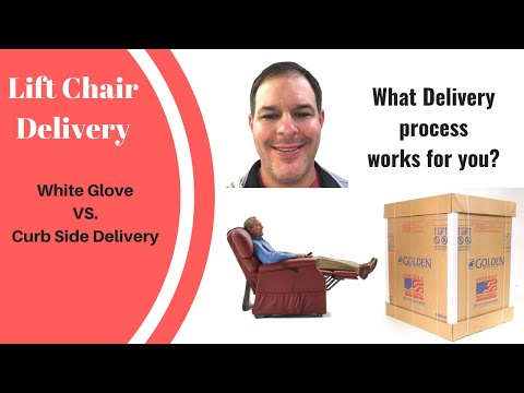 Lift Chair Delivery. Which shipping process works best for you?