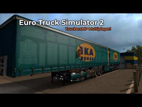 Euro Truck Simulator 2 - TruckersMP (Livestream 08/09/2018)