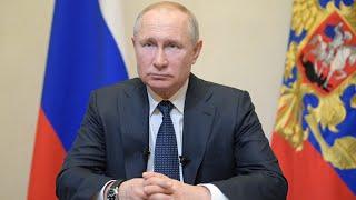 Обращение Путина россиянам.