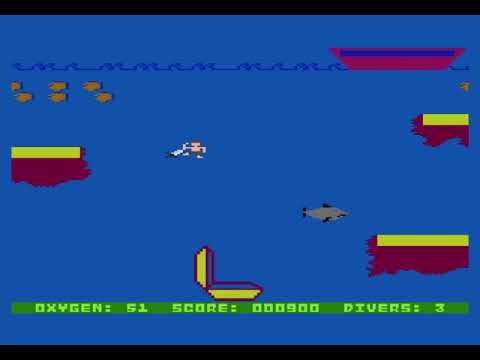 Kooky Diver para computadoras Atari 8 bits