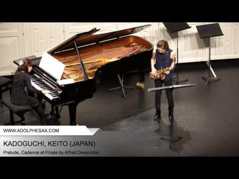 Dinant 2014 - Kadoguchi, Keito - Prelude, Cadence et Finale by Alfred Desenclos