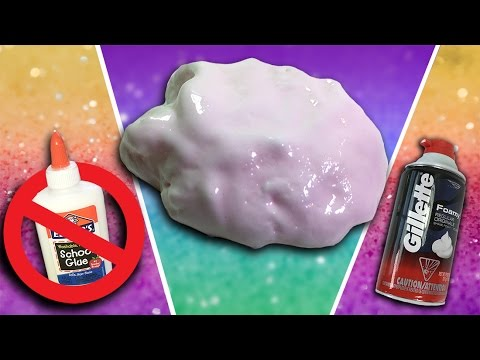 how to make slime at home without borax or detergent
